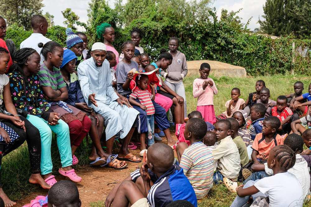 ISA Youth: new work, shot in Kibera